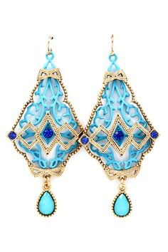 Sky Deco Statement Earrings | Awesome Selection of Chic Fashion Jewelry | Emma Stine Limited