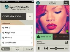 SpotON! A radio app powered by Spotify. Check it out.
