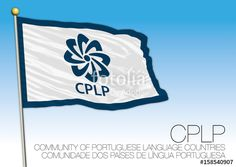 Cplp flag, Portuguese speaking country organizations