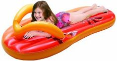 Place a flip flop float at the pool entrance and have two floating in the pool.