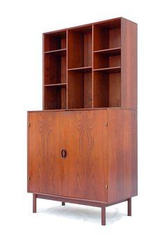 Peter Hvidt & Orla Molgaard-Nielsen, Cabinet with Bookshelf, 1950s.