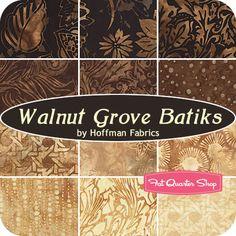 SEPTEMBER 13---Walnut Grove Batiks Yardage Hoffman Fabrics - Fat Quarter Shop