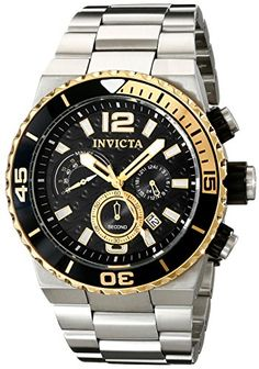 Men's Wrist Watches - Invicta Mens 12992 Pro Diver Analog Display Japanese Quartz Silver Watch >>> Be sure to check out this awesome product. (This is an Amazon affiliate link)