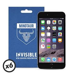 Apple Iphone 6 Plus / 6s Plus Screen Protector Pack Super Clear By Minotaur (6 Screen Protectors)