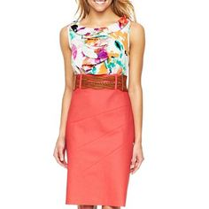 Alyx Floral Ruffle Dress - jcpenney. $35.00 More zippy colors for Spring!