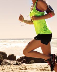 bucket list: running at the beach in the sun, or at night