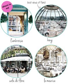 *Where to eat in Paris