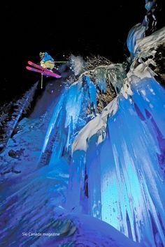 Gran foto de Steve lloyd. Cada vez nos queda menos para que empiece la temporada de #esqui www.moustacheboy.com
