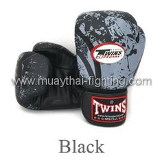 Twins Special Fancy Boxing Gloves Bento Design FBGV-38B -Black  US$54.95