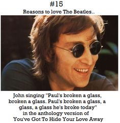 Reasons to love The Beatles # 15