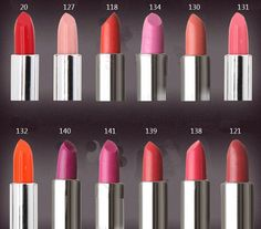 Makeup Forever lipsticks