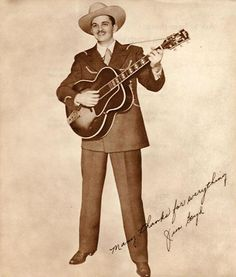 Jim Boyd (Musician. Born in Ladonia, Texas, he was Western swing music artist whom sang and played stand-up sting bass with his brother Bill in Bill Boyd & His Cowboy Ramblers, from 1932 to 1951.)