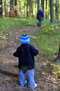 Tips and tricks for taking nature walks with children.