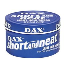 Dax Short & Neat Light Hair Dress 3.5 oz $2.95   Visit www.BarberSalon.com One stop shopping for Professional Barber Supplies, Salon Supplies, Hair & Wigs, Professional Products. GUARANTEE LOW PRICES!!! #barbersupply #barbersupplies #salonsupply #salonsupplies #beautysupply #beautysupplies #hair #wig #deal #promotion #sale #dax #short #neat #light #hairdress