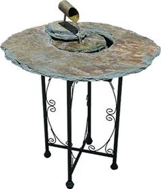 Whether you want fountains as accessories or as a strategically designed Zen experience, this high end Natural Slate Stone Table Indoor Floor Fountain can help enhance any environment. It can be used anywhere from a quiet garden room to an office or bedroom. Natural Slate Stone Table Indoor Floor Fountain Owners Manual Natural Slate Stone Table Indoor Floor Fountain Size: 24