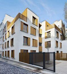 Passage de la Brie Housing / Explorations Architecture