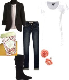 """Winter Day"" by rylenlemons on Polyvore"