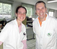 Personnel du laboratoire de Recherche et Développement FREDERIC M