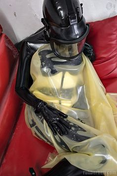 Latex girls on heavy rubber sofa gallery Gas Mask Girl, Respirator Mask, Heavy Rubber, Latex Girls, Leather, Women, Style, Mascaras, Woman