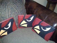 Wooden Cardinal Plaques  amandabirdsong@yahoo.com