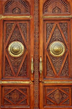 Pretty door in Doha, Qatar!