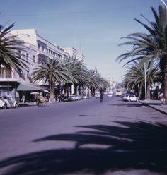 Downtown (1971) Asmara, Eritrea.