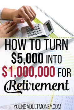 Want to skyrocket your way toward one million dollars in your retirement fund? It's possible - even on a lower salary - but only when time is on your side. If you think you can afford to save for retirement in another five or ten years, you're wrong. Here's how powerful compound interest is when you're younger.