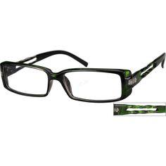 A medium wide size, plastic full-rim frame. Oakley Frames, New Glasses, Eyewear, Plastic, Sunglasses, Medium, My Style, Boys, Green