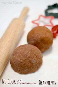 NO COOK Cinnamon Ornament Recipe- these are so easy to make and will fill your whole home with the best scent of the season!