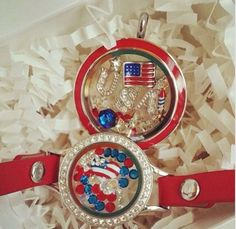 Origami Owl {4th of July Collection} Shop the Summer Collection now! ❤️ www.jessicacooper.origamiowl.com #origamiowl #4thofJuly