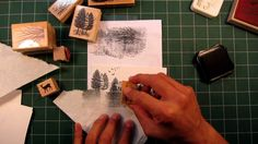 Stampscapes 101: Video 2.  Seamless Scenes and Altering Stamp Usage (+pl...