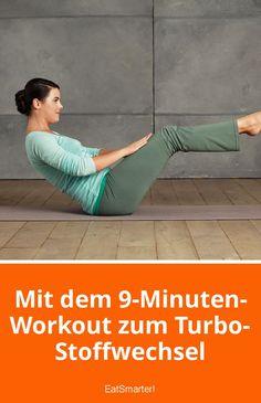 Mit dem 9-Minuten-Workout zum Turbo-Stoffwechsel | eatsmarter.de