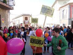 01 - Cercavila Trobades d'Escoles en Valencià 2013 a Pedreguer (174) Foto: laveupv.com