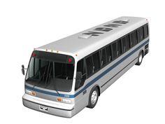 GMC RTS bus 3d model