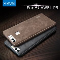 X level Retro luxury PU Leather Case For Phone Case Huawei P9 plus case For Fundas Huawei Ascend P9 Phone Shell Case Cover