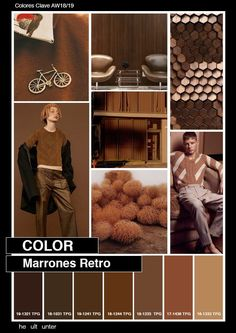 Tendencia Marrones Retro