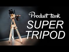 Product Tank Prototypes a Slick One-Handed Camera Tripod - Core77