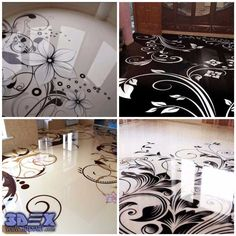 3d floor patterns, 3d epoxy floor, 3d floor tattoo, 3d flooring  How to make 3D Epoxy Flooring and 3D Floor Art Design  All secrets on how to install 3d self-leveling flooring with mural or photo printing on floor, 3d epoxy flooring for each room