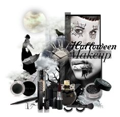 """Halloween Makeup"" by wish85 ❤ liked on Polyvore featuring beauty, Kat Von D, Mary Kay, Gorgeous Cosmetics, Urban Decay, Aéropostale, Eyeko, Lancôme, NARS Cosmetics and Gucci"
