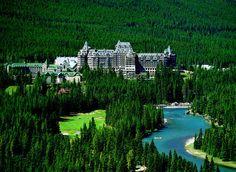 Fairmont Banff Springs Hotel  Banff National Forest  Banff, Alberta, Canada