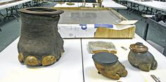 The Teddy Roosevelt Collection: President Theodore Roosevelt's infamous elephant foot wastebasket