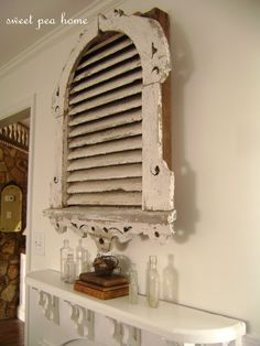 Repurpose & upcycle an old attic vent