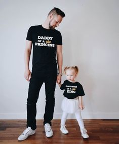 Daddy of a princess Fathers day gift Daddy and me fathers day gift from daughter Daughter of a king shirt Daddy gift Price per item Homemade Fathers Day Gifts, First Fathers Day Gifts, Unique Mothers Day Gifts, Diy Father's Day Gifts, Great Father's Day Gifts, Father's Day Diy, Fathers Day Shirts, Daddy Gifts, Dad To Be Shirts