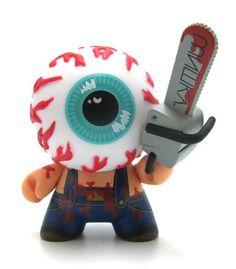 Dunny Series 2011 - MISHKA - keep watch eyeball with chainsaw