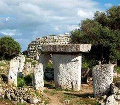Talayots Torre Vella.Menorca Spain.