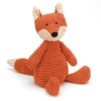 Fuchs - Kuscheltier - Cord - 40 cm in der Gruppe - Spielzeug / Weiches Spielzeug bei Blå Elefant - Blaue Elefant (bri-roy3fx)