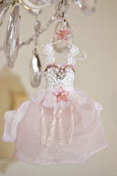 Beautiful Handmade Fairy Ball Gown by Jennelise Rose