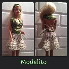 Barbie vestido de croche