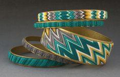 Polymer Micro Knitting bangles | Flickr - Photo Sharing!