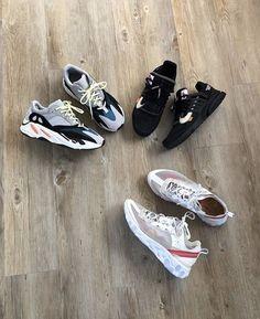 big sale 5fff5 dd58a What a rotation! adidas nike offwhite ow yeezy react